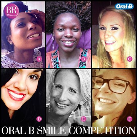 oral b smile competition