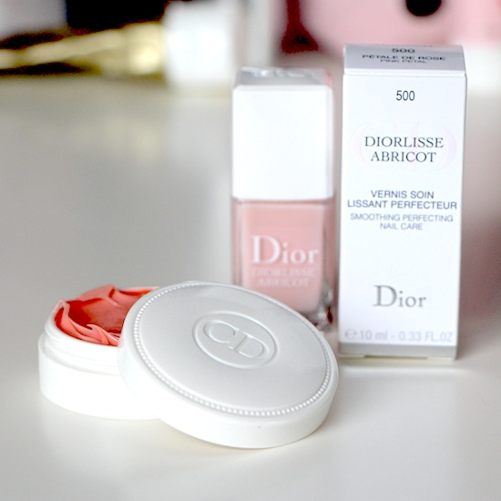 dior nail cream and manicure