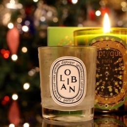 luxury christmas candle
