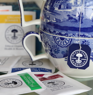 Neal's Yard Remedies and their Affordable Organic Teas.