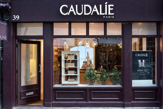 Caudalie boutique covent garden opening for Salon spa paris