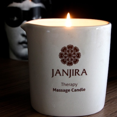 Massage Candle Review janjira treatment