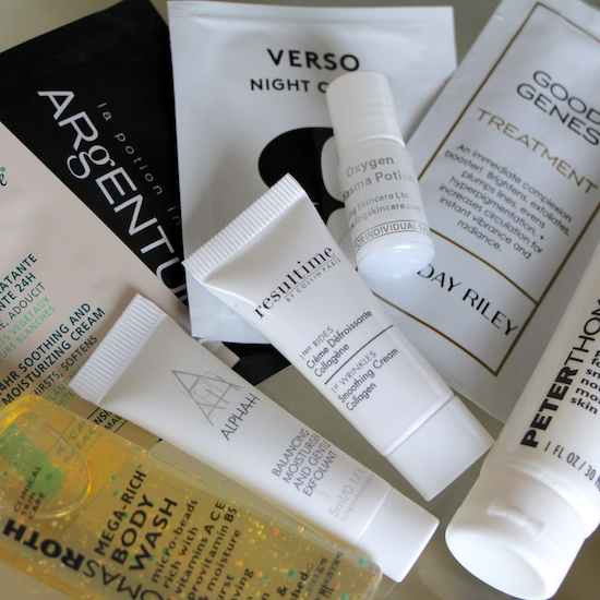 deluxe beauty skincare samples