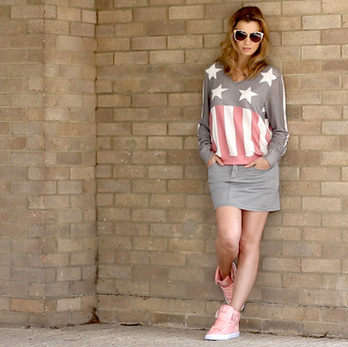 What I'm Wearing: Faded Stars and Stripes
