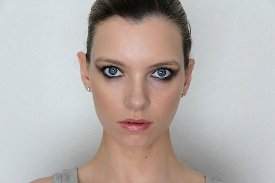 ruth crilly model makeup
