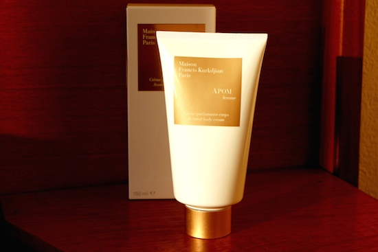 Francis Kurkdjian Apom Femme Body Cream Review