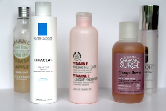 alcohol free toner reviews