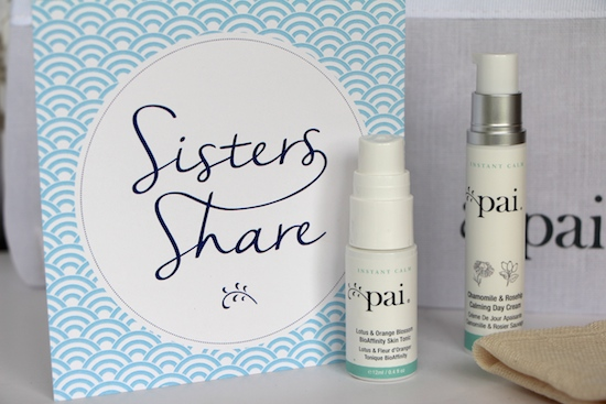 sisters share skincare offer