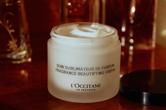 l'occitane fragrance beautifying cream
