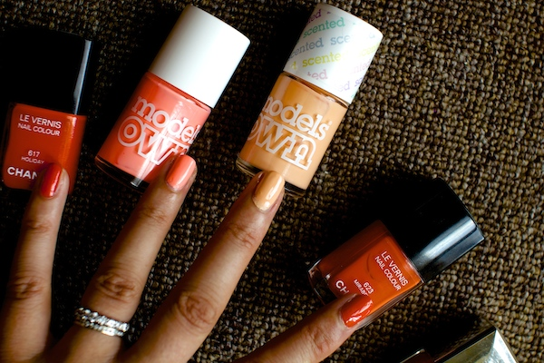 Favourite Summertime Nail Polishes.