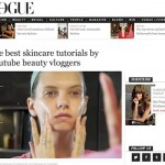 A Model Recommends on Vogue Australia…