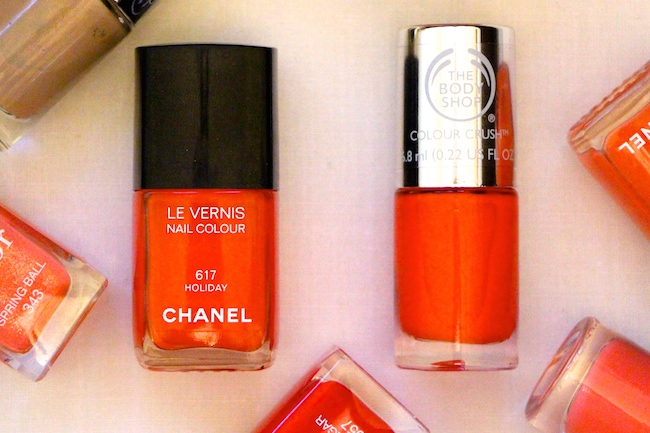 chanel holiday nail polish dupe