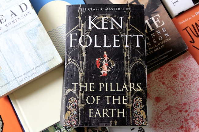 Latest Read: The Pillars of the Earth