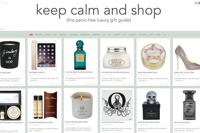 Keep Calm and Shop: It's Back. Almost.