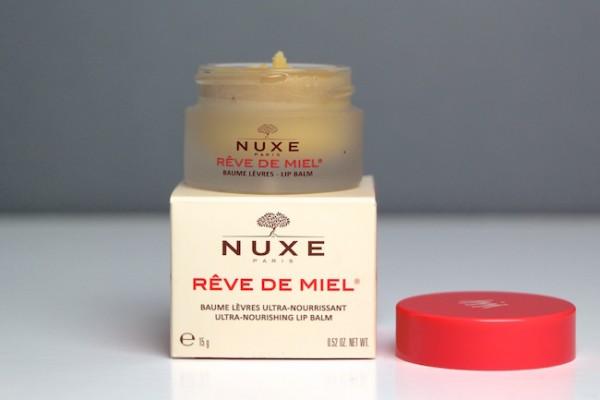 Nuxe Reve de Miel: Non-Sticky Weather-Proof Lip Balm.