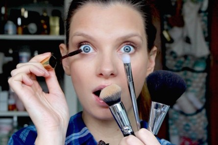 The Five Minute Makeup Challenge…