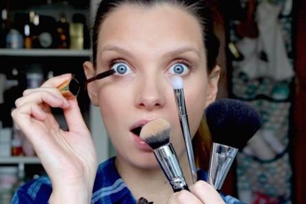 The Five Minute Makeup Challenge…