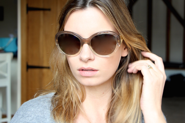 Investment buy burberry s gaberdine sunglasses a model recommends