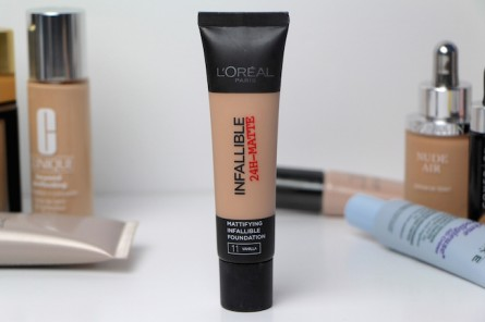 l'Oreal Infallible 24H-Matte Foundation Review