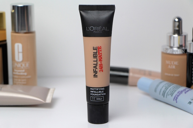 l'Oreal Infallible 24H-Matte Foundation Review | A Model Recommends