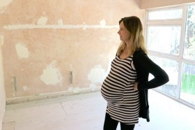 Vlog: Half-Done House Tour and 36 Weeks Pregnant!