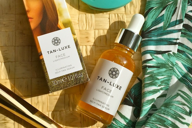 tan luxe self tan serum for the face a model recommends. Black Bedroom Furniture Sets. Home Design Ideas