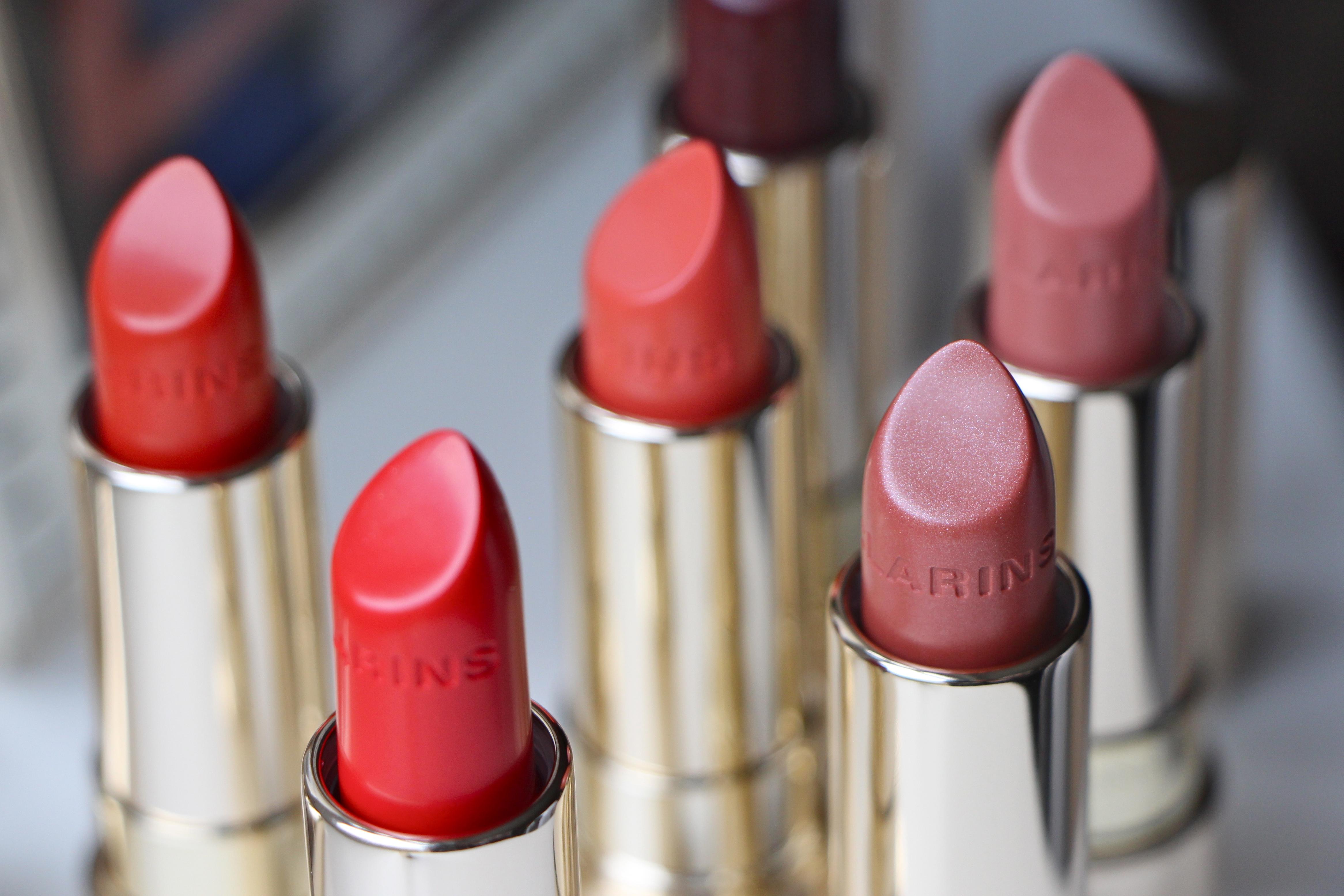 clarins joli rouge lipsticks