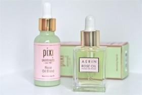 Rose Facial Oil Blends: Pixi vs Aerin