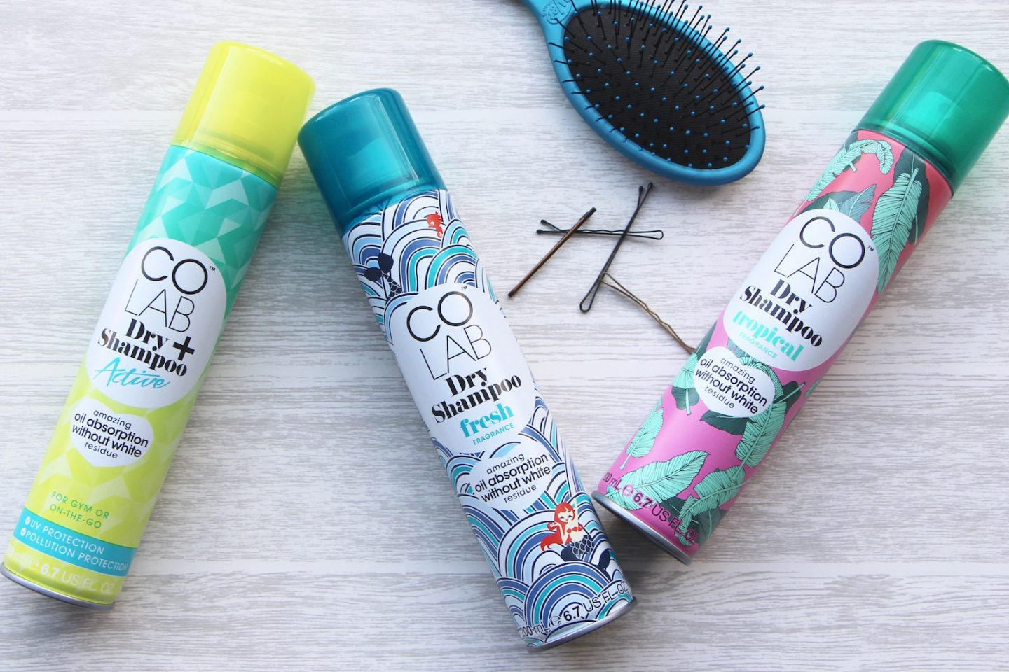 colab dry shampoo new packaging