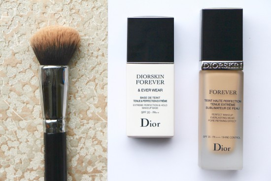 flawless full coverage the new ish dior forever foundation a model recommends. Black Bedroom Furniture Sets. Home Design Ideas
