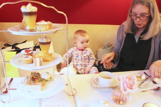 afternoon tea at the capital hotel knightsbridge