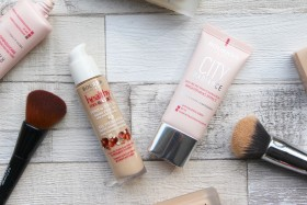 Bourjois Foundations: Healthy Mix Serum vs City Radiance