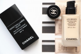 Chanel Foundations: Les Beiges vs Perfection Lumiere Velvet