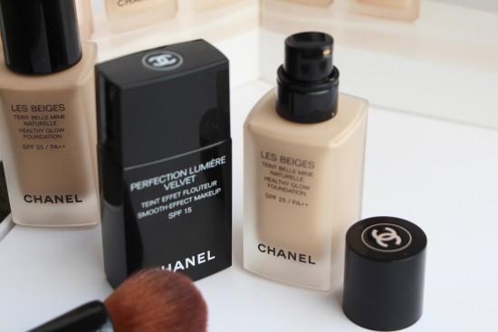 Chanel Foundations: Les Beiges vs Perfection Lumiere Velvet | A ...