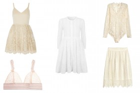 Weekly Window Shop: Floaty and Feminine Lace
