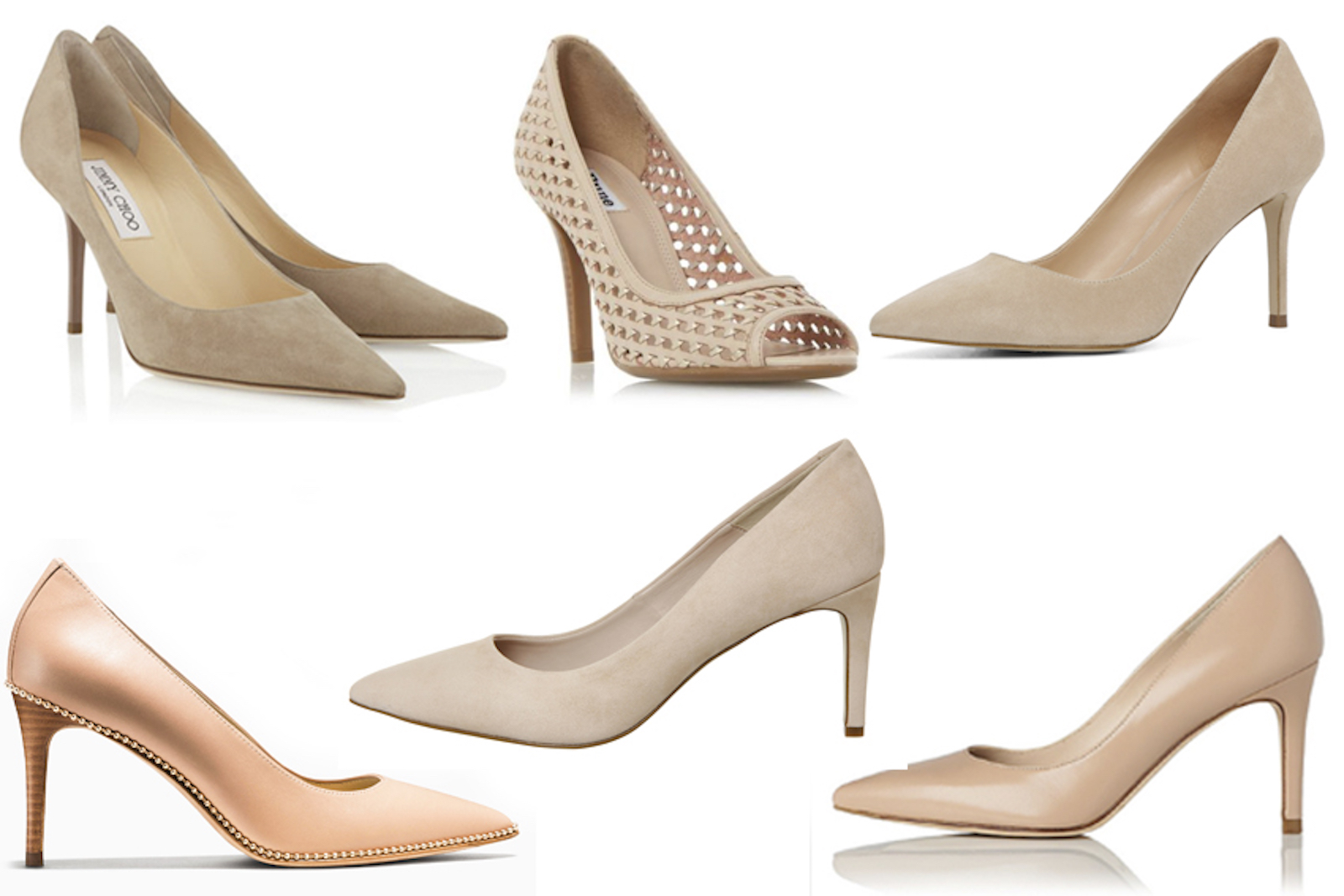 Weekly Window Shop: The Best Nude Court Shoes | A Model Recommends