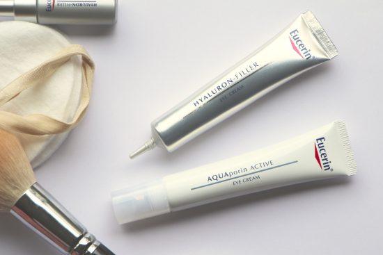 eucerin eye creams aquaporin and hyaluron-filler