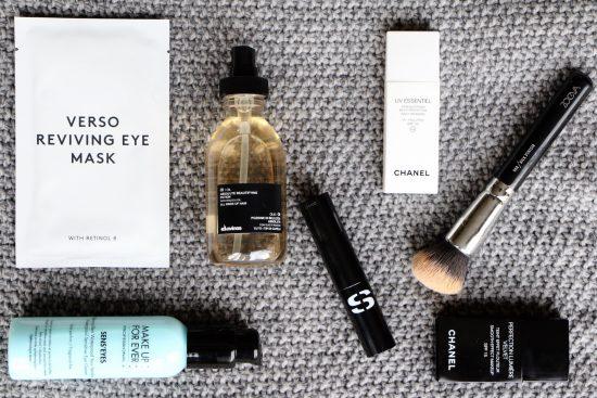 beauty bag contents