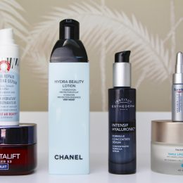 serums and creams for dehydrated skin