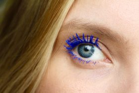 Vinyl Couture Mascara and the Easiest Blue Eyes