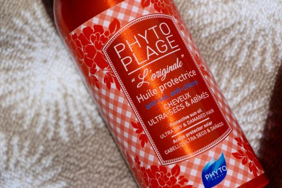 phyto phytoplage hair care oil
