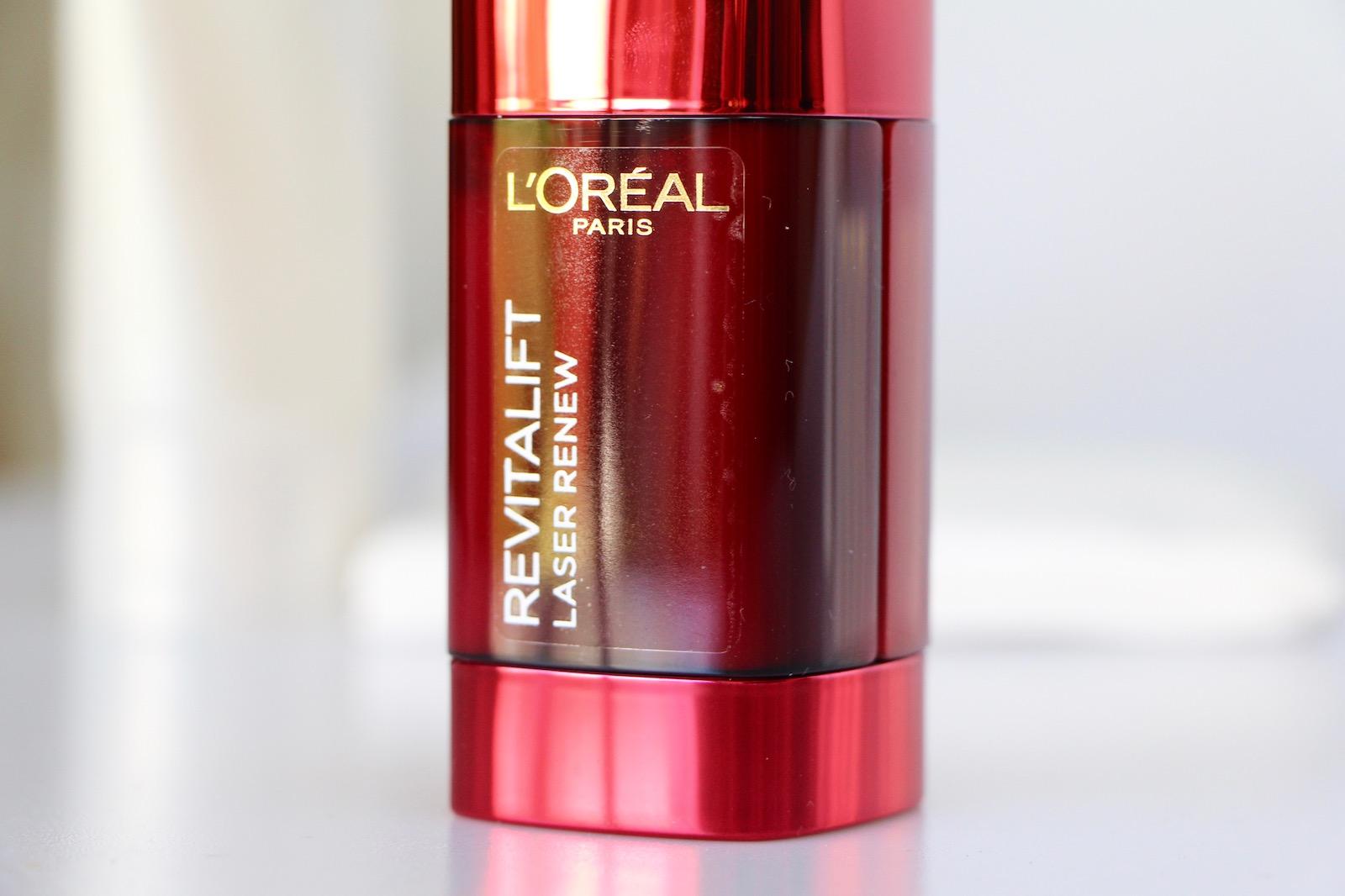 L Or 233 Al Paris Revitalift Laser Renew The Double Care Ad