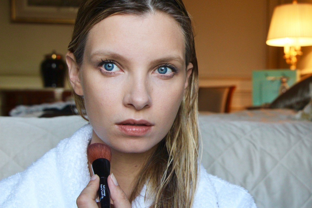 Ruth crilly makeup video a model recommends