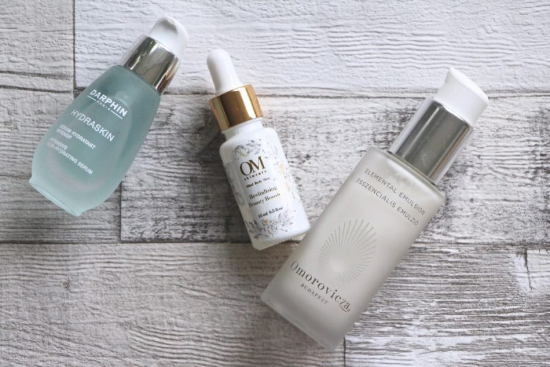 space nk favourites beauty products flatlay