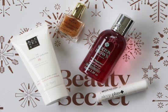 lookfantastic beauty secret advent calendar review
