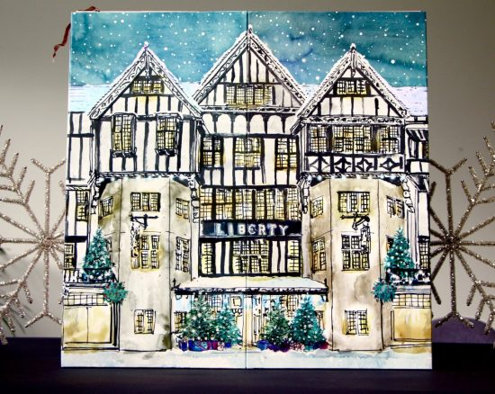 Palpitations The Liberty Beauty Advent Calendar A Model