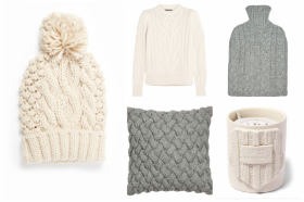 Weekly Window Shop: Cosy Cable Knits