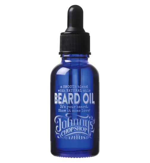 johnny chop shop beard oil