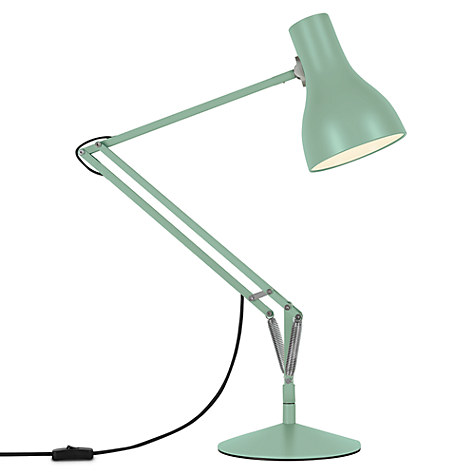 anglepoise in seagrass