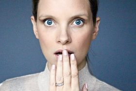 Chanel's Pink Rubber Nails: Pretty Fetishistic